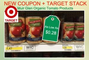 Muir Glen Organic Tomato Product Coupon Deal