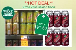 Zevia Zero Calorie Soda coupon deal
