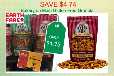 Bakery on Main Gluten Free Granola Coupon Deal