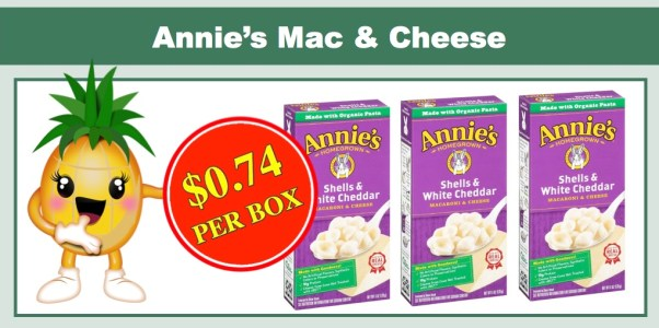 Annie's Shell & White Cheddar Mac and Cheese