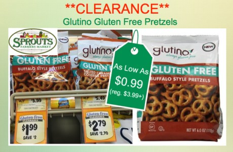 Glutino Gluten Free Pretzels Coupon Deal