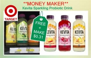Kevita Probiotic Drink coupon deal