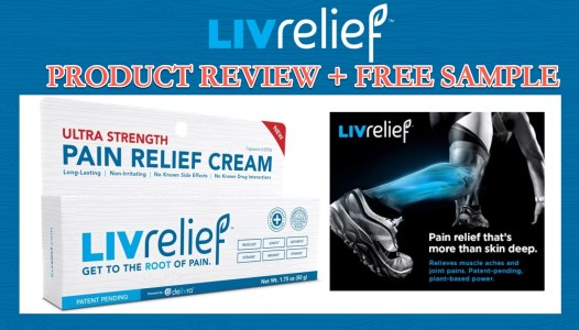 Product Review: LivRelief Natural Pain Relief Cream