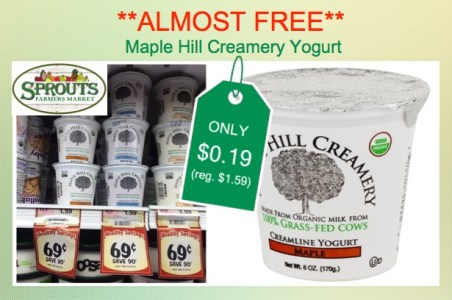 Maple Hill Creamery Yogurt Coupon Deal