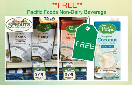 Pacific Foods Non-Dairy Beverage coupon deal