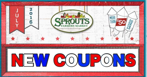 Sprouts Monthly Coupon July August
