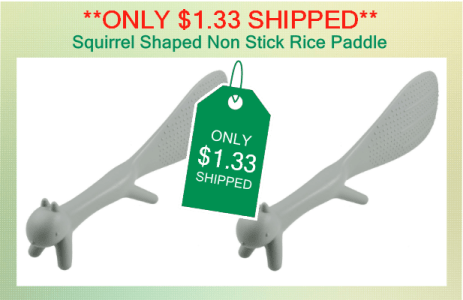 Squirrel Shaped Non Stick Rice Paddle