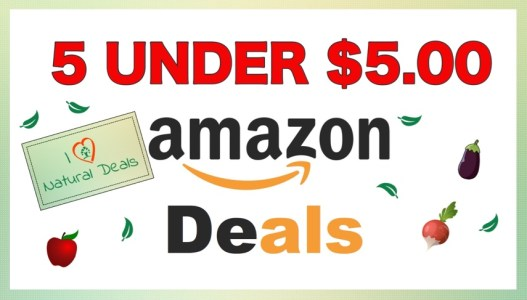 5 Under 5 Amazon Deals Green