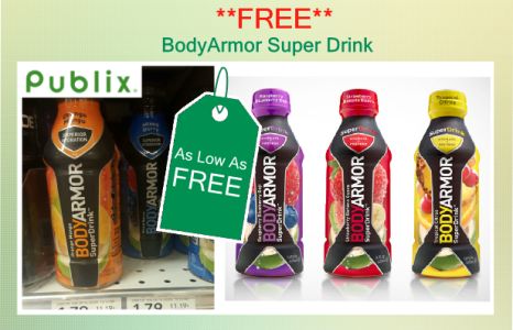 BodyArmor Super Drink Coupon Deal