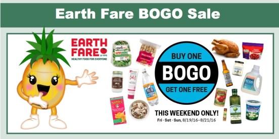 Earth Fare BOGO Sale
