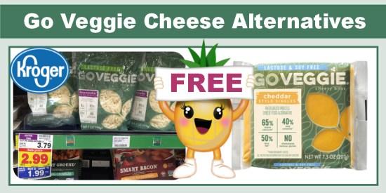 Go Veggie Cheese Alternatives coupon deal