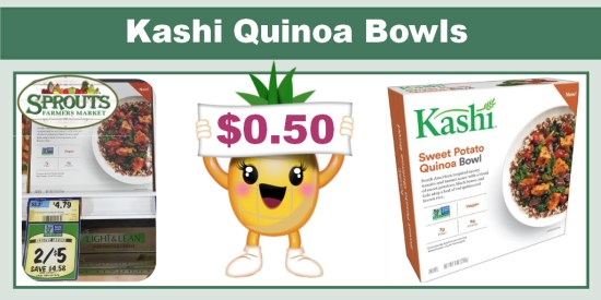 Kashi Quinoa Bowls coupon deal