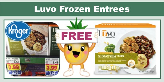 Luvo Frozen Entrees coupon deal