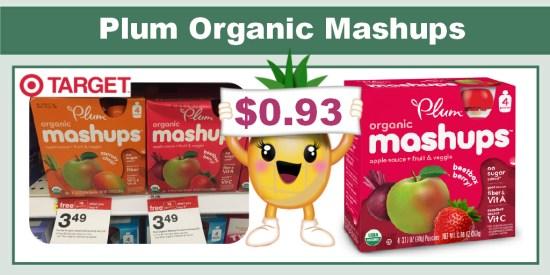Plum Organic Mashups coupon deal 2