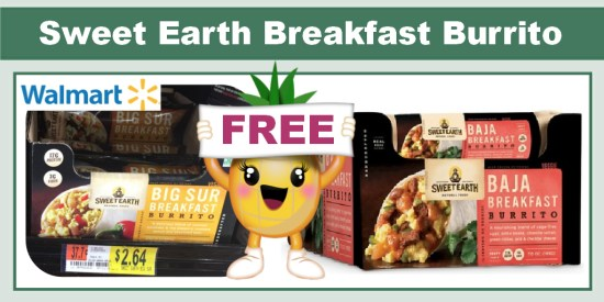 Sweet Earth Breakfast Burrito coupon deal 1