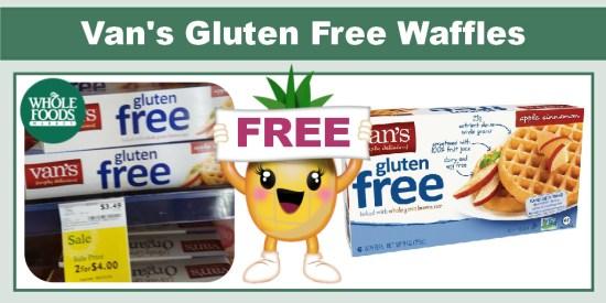 Van's Gluten Free Waffles coupon deal