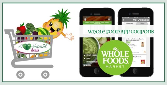 Whole Foods App Coupons Logo