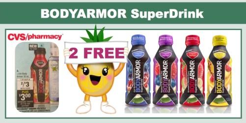bodyarmor superdrink coupon deal