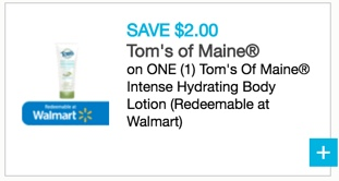 Tom's Of Maine Intense Hydrating Body Lotion