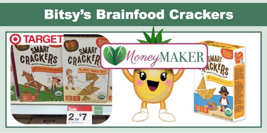 Bitsy's Brainfood Crackers Coupon Deal