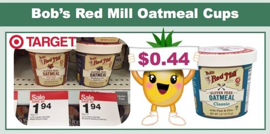 bob's red mill gluten free oatmeal coupon deal