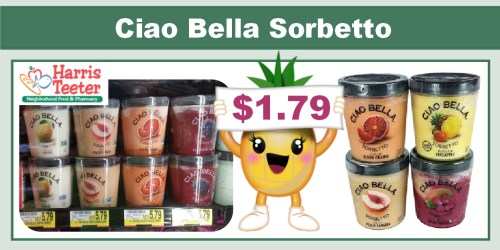 Ciao Bella Sorbetto Coupon Deal