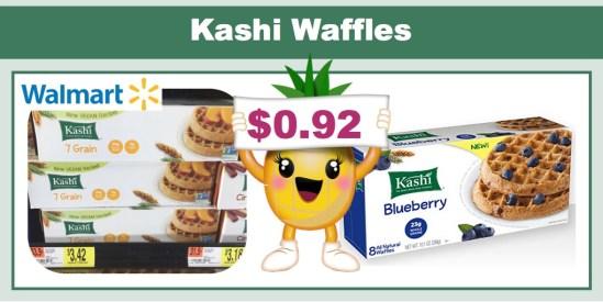 kashi waffles coupon deal
