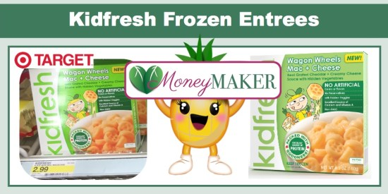 kidfresh frozen entrees coupon deal