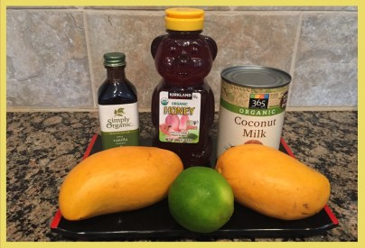 mango coconut ice cream ingredients