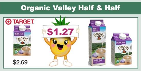Organic Valley Half and Half Creamer Coupon Deal