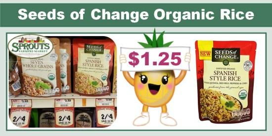 seeds of change organic rice coupon deal