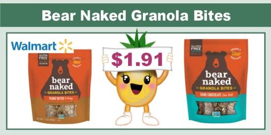 Bear Naked Granola Bites Coupon Deal