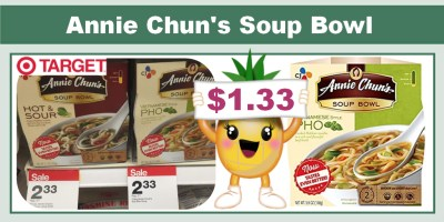 Annie Chun's Soup Bowl Coupon Deal