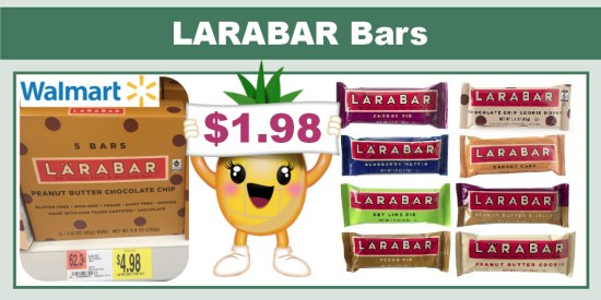 LARABAR Bars Coupon Deal