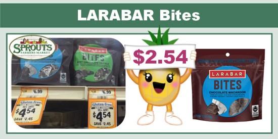 LARABAR Bites coupon deal