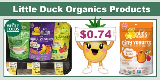 Little Duck Organics Products coupon deal