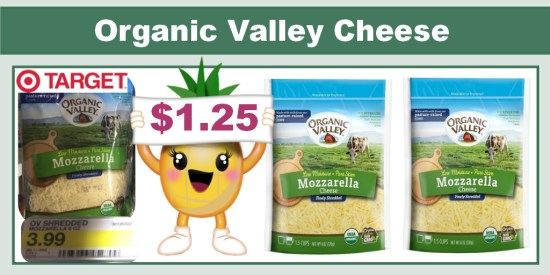 Organic Valley Cheese coupon deal