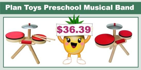 plan toys preschool musical band