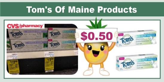 tom's of maine coupon deal