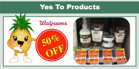 walgreens yes to products clearance