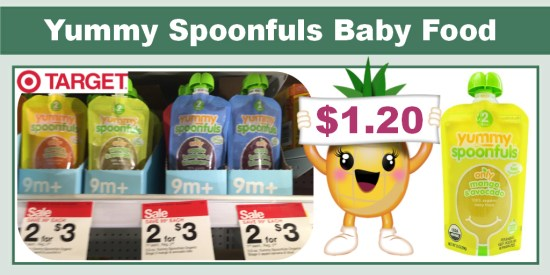 Yummy Spoonfuls Baby Food coupon deal