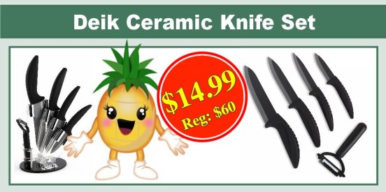 Deik Ceramic Knife Set