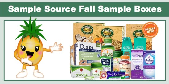 sample source fall sample boxes