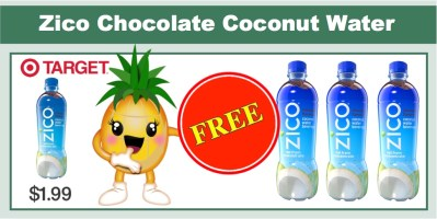 zico chocolate coconut water coupon deal