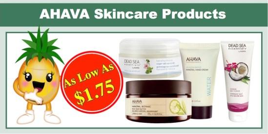 ahava skincare products
