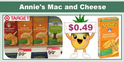 Annie's Mac & Cheese Coupon Deal