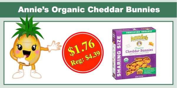 Annie's Organic Cheddar Bunnies (Family Size)