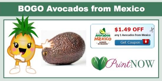 BOGO Avocados from Mexico Coupon
