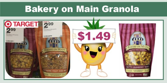Bakery on Main Granola Coupon Deal