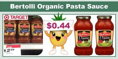 bertolli organic pasta sauce coupon deal
